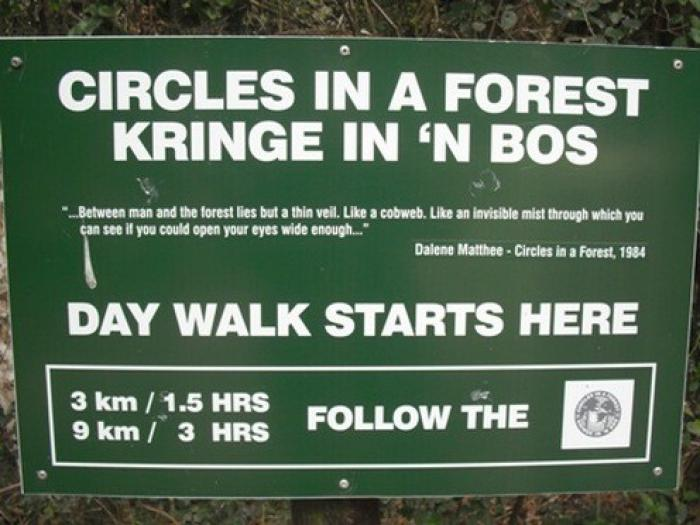 Circles in the Forest, Knysna, a tour attraction in The Garden Route South Africa