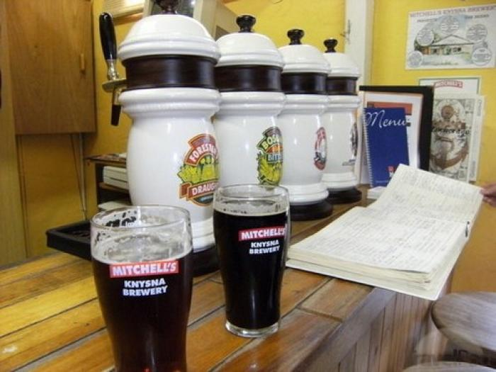 Mitchell's Brewery tour, a tour attraction in The Garden Route South Africa