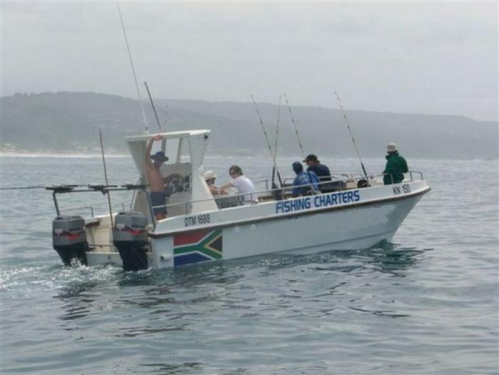 Go deep sea fishing, a tour attraction in The Garden Route South Africa