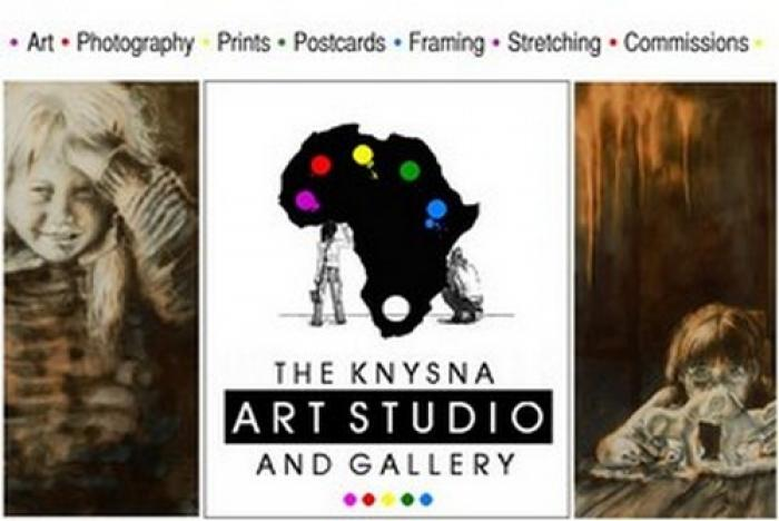 The Knysna Art studio and gallery, a tour attraction in The Garden Route South Africa