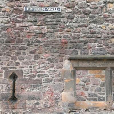 Flodden Wall, a tour attraction in Edinburgh, United Kingdom