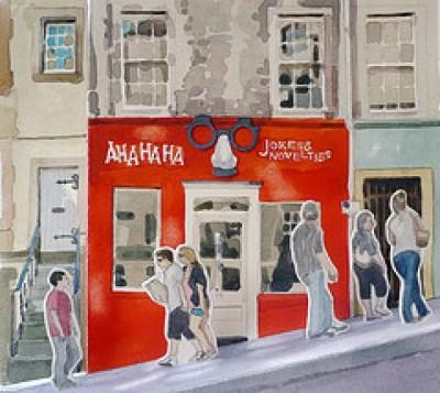 Aha Ha Ha, a tour attraction in Edinburgh, United Kingdom