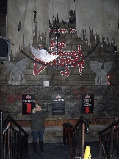 The Edinburgh Dungeon, a tour attraction in Edinburgh, United Kingdom