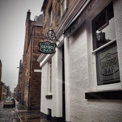 The Oxford Bar, a tour attraction in Edinburgh, United Kingdom