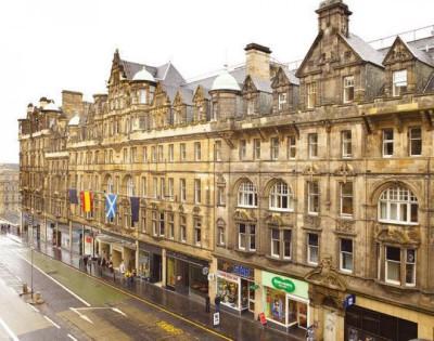 North Bridge, a tour attraction in Edinburgh, United Kingdom