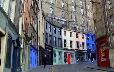 Victoria Street, a tour attraction in Edinburgh, United Kingdom