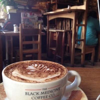 The Black Medicine Coffee Co., a tour attraction in Edinburgh, United Kingdom