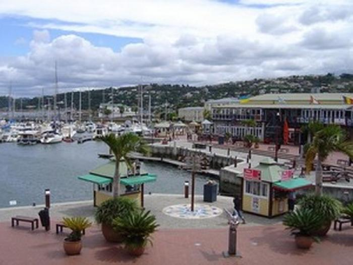 Knysna Waterfront, a tour attraction in The Garden Route South Africa