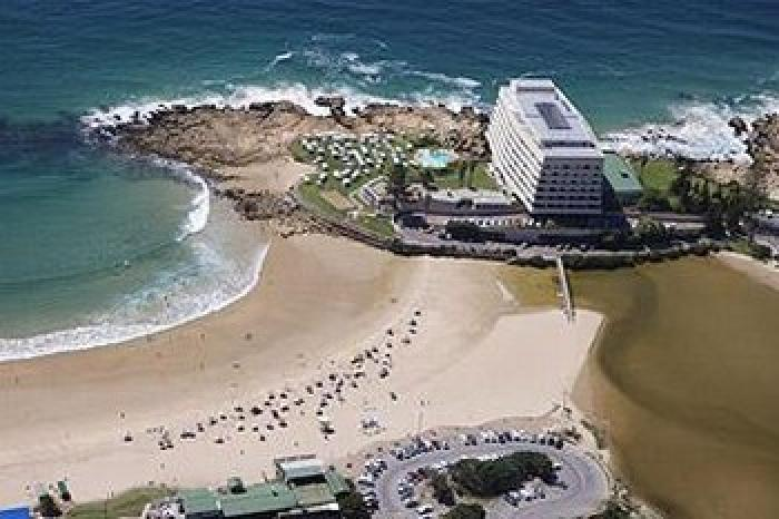 The town of Plettenberg Bay, a tour attraction in The Garden Route South Africa