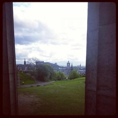 Calton Hill, a tour attraction in Edinburgh, United Kingdom