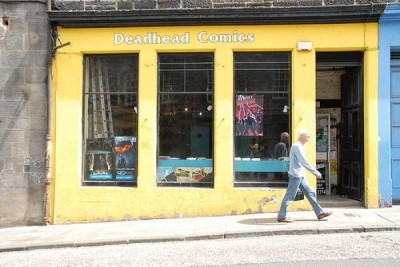 Deadhead Comics, a tour attraction in Edinburgh, United Kingdom