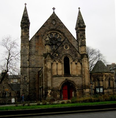 Mansfield Place Church, a tour attraction in Edinburgh, United Kingdom