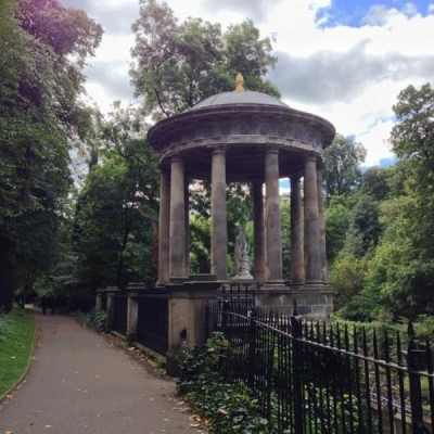 St Bernard's Well, a tour attraction in Edinburgh, United Kingdom