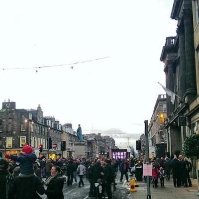 George Street, a tour attraction in Edinburgh, United Kingdom