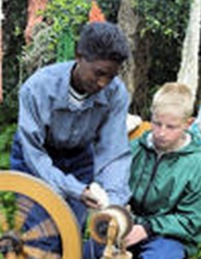 Learn Hand Spinning, a tour attraction in The Garden Route South Africa