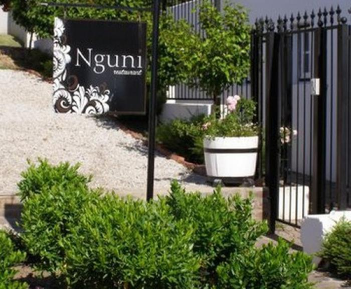 Nguni restaurant, a tour attraction in The Garden Route South Africa