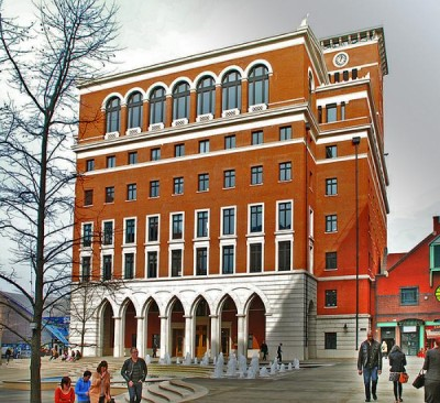 Brindleyplace, a tour attraction in Birmingham, United Kingdom
