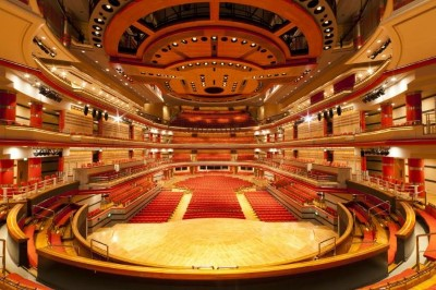 Symphony Hall, a tour attraction in Birmingham, United Kingdom
