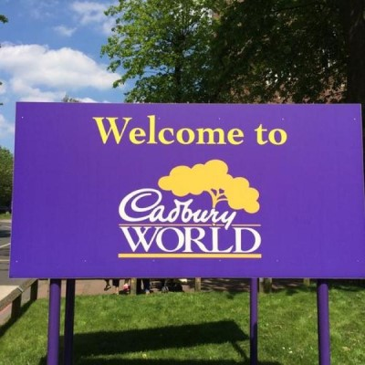 Cadbury World, a tour attraction in Birmingham, United Kingdom