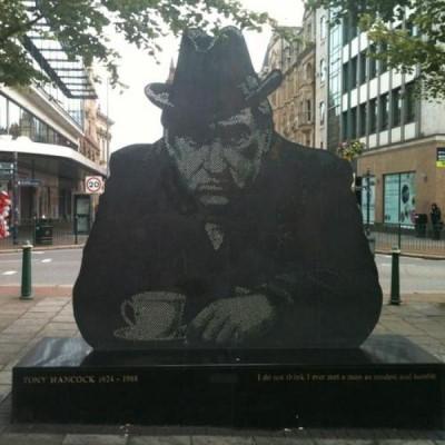 Tony Hancock Statue, a tour attraction in Birmingham, United Kingdom