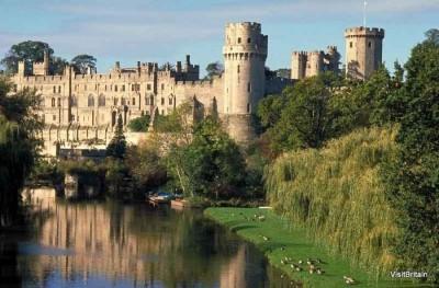 Warwick Castle, a tour attraction in Birmingham, United Kingdom