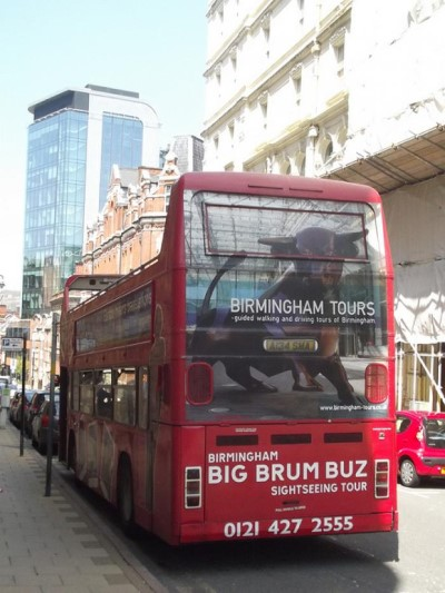 Big Brum, a tour attraction in Birmingham, United Kingdom