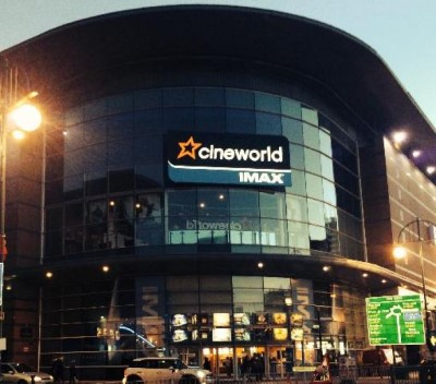Cineworld, a tour attraction in Birmingham, United Kingdom