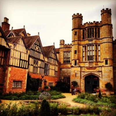 Coughton Court, a tour attraction in Birmingham, United Kingdom