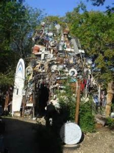 Cathedral of Junk, a tour attraction in Austin, TX, United States