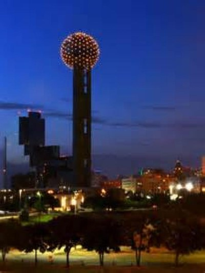 Reunion Tower, a tour attraction in Dallas, TX, United States