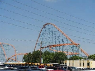 Six Flags Over Texas, a tour attraction in Dallas, TX, United States