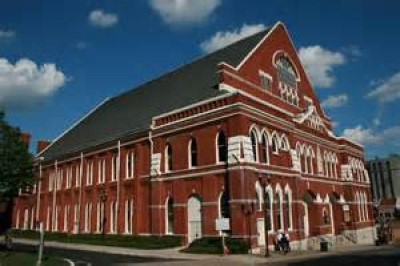 Ryman Auditorium, a tour attraction in Nashville, TN, United States