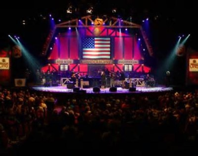 The Grand Ole Opry, a tour attraction in Nashville, TN, United States