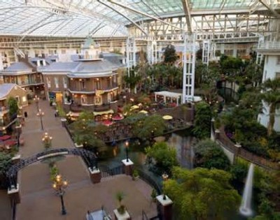 Opryland Hotel, a tour attraction in Nashville, TN, United States