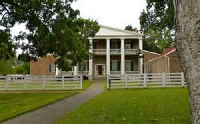 The Hermitage, home of President Andrew Jackson, a tour attraction in Nashville, TN, United States
