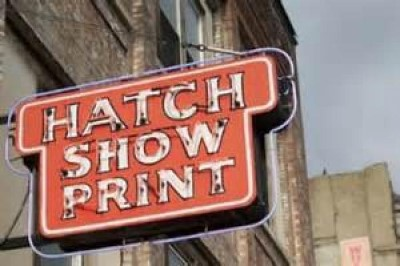Hatch Show Print, a tour attraction in Nashville, TN, United States