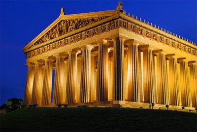 The Parthenon , a tour attraction in Nashville, TN, United States