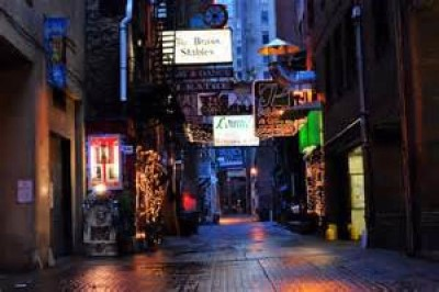 Printer's Alley, a tour attraction in Nashville, TN, United States
