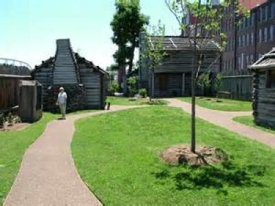 Fort Nashborough, a tour attraction in Nashville, TN, United States
