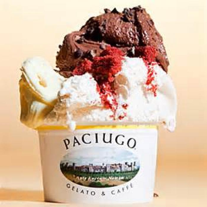 Paciugo Gelato & Caffé, a tour attraction in Mckinney