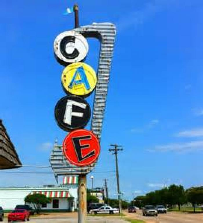 Bill Smith's Cafe, a tour attraction in Mckinney