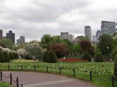 Boston Public Garden, a tour attraction in Boston, MA, United States