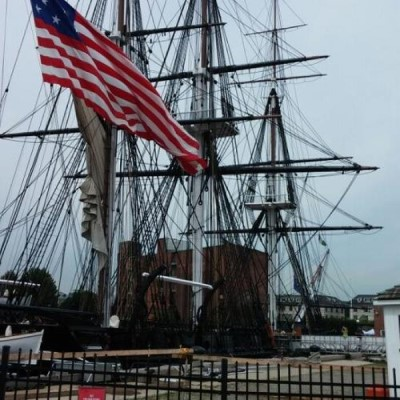USS Constitution, a tour attraction in Boston, MA, United States