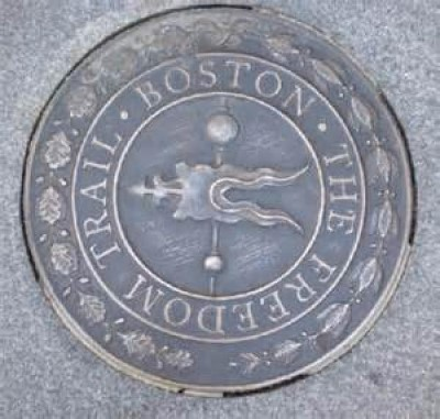 The Freedom Trail, a tour attraction in Boston, MA, United States