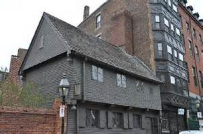 Paul Revere House, a tour attraction in Boston, MA, United States
