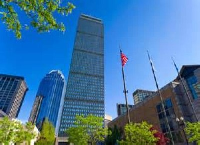 Prudential Center Tower, a tour attraction in Boston, MA, United States