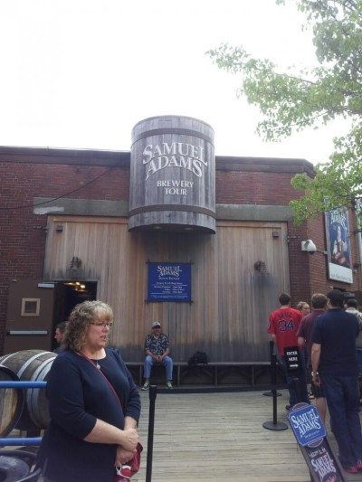 Sam  Adams Brewhouse, a tour attraction in Boston, MA, United States