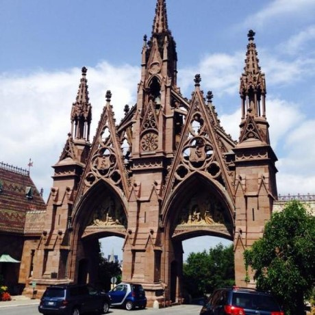 The Green-Wood Cemetery, a tour attraction in Brooklyn, NY, United States