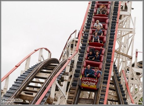 Coney Island Cyclone Roller Coaster, a tour attraction in Brooklyn, NY, United States