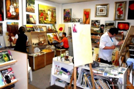 Shop art gallery, a tour attraction in Brooklyn, NY, United States